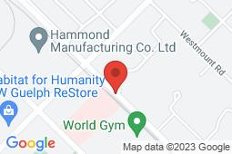 Map of 83 Dawson Rd, Guelph, Ontario - Dawson Road Family Medical Clinic - Dawson Road Family Medical Clinic