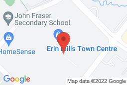 Map of 5100 Erin Mills Pkwy, Unit E229A, Mississauga, Ontario - Erin Mills Medical Clinic - Erin Mills Medical Clinic