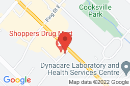 Map of 2444 Hurontario St, Mississauga, Ontario - Floradale Medical Clinic - Floradale Medical Clinic