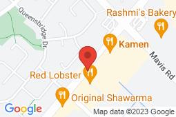 Map of 780 Burnhamthorpe Rd W, Unit 4, Mississauga, Ontario - Glenashton Medical - Glenashton Medical