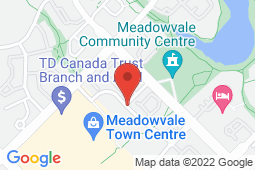 Map of 6855 Meadowvale Town Centre Cir, Suite 102, Mississauga, Ontario - Meadowvale Professional Centre - Meadowvale Professional Centre