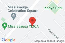 Map of 3885 Duke of York Blvd Unit 104, Mississauga, Ontario - Medicare Walk-in Clinic - Medicare Walk-in Clinic