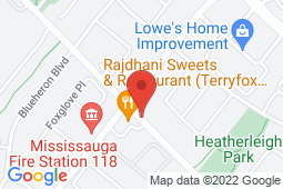 Map of 5380 Terry Fox Way, Unit 10, Mississauga, Ontario - Terry Fox Medical Clinic - Terry Fox Medical Clinic