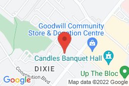Map of 1185 Dundas St E, Mississauga, Ontario - Landmark Medical Clinic - Landmark Medical Clinic
