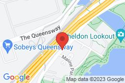Map of 2077 Lake Shore Blvd W, Etobicoke, Ontario - Appletree Medical Group Lake Shore Blvd - Appletree Medical Group