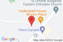 Map of 8015 Financial Dr, Brampton, Ontario - Copper Ridge Medical Centre - Copper Ridge Medical Centre