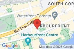 Map of 8 York St #4, Toronto, Ontario - Appletree Medical Group Lake York St - Appletree Medical Group