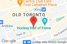 Map of 200 Bay Street, Lower Concourse Level, Toronto, Ontario - MCI - The Doctor's Office Royal Bank Plaza  - MCI - The Doctor's office