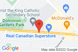Map of 156 Guelph St, Georgetown, Ontario - South Georgetown Medical Clinic - South Georgetown Medical Clinic