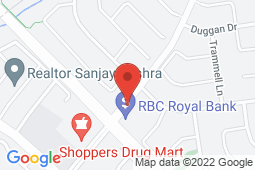 Map of 475 Charolais Blvd, Brampton, Ontario - Peel Medical Clinic - Peel Medical Clinic
