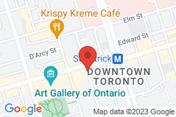 Map of 275 Dundas St W, Toronto, Ontario - Appletree Medical Group Lake Dundas St - Appletree Medical Group