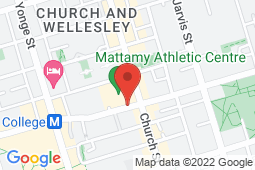 Map of 60 Carlton St, Toronto, Ontario - Carlton and Church Walk In and Medical Clinic - Carlton and Church Walk In and Medical Clinic