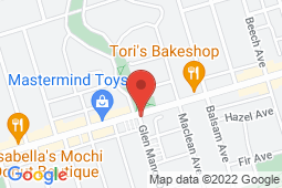 Map of 116 Glen Manor Dr, Toronto, Ontario - Beaches Family Practice And Walk-In - Comprehensive Healthcare Network