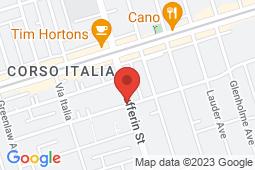 Map of 1615 Dufferin St #301, Toronto, Ontario - Good Health Medical Walk-in Clinic - Good Health Medical Walk-in Clinic
