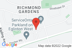 Map of 250 Wincott Drive, Unit 12, Etobicoke, Ontario - MCI - The Doctor's Office Richview  - MCI - The Doctor's office