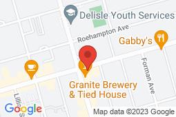 Map of 245 Eglinton Avenue E, Toronto, Ontario - MCI - The Doctor's Office Mt. Pleasant  - MCI - The Doctor's office