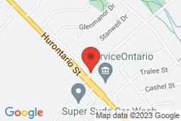 Map of 1 Wexford Rd, Unit 5, Brampton, Ontario - Wexford Medical Clinic - Wexford Medical Clinic