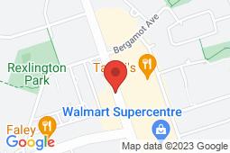Map of 2304 Islington Ave, Etobicoke, Ontario - Islington Medical Clinic - Islington Medical Clinic