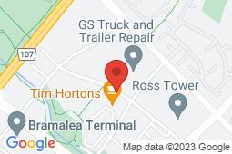 Map of 17 King's Cross Rd, Brampton, Ontario - King's Cross Doctors Office - King's Cross Doctors Office