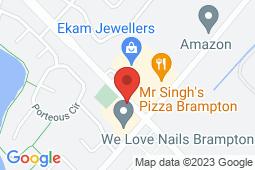 Map of 2130 North Park Dr, Unit 30, Brampton, Ontario - Heartland Walk-in Clinic - Heartland Walk-in Clinic