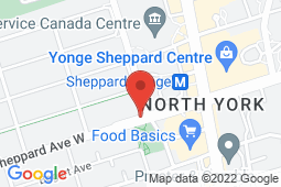 Map of 48 Sheppard Ave W, Toronto, Ontario - Sheppard Beecroft Medical Clinic - Sheppard Beecroft Medical Clinic