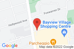 Map of 2901 Bayview Ave, Toronto, Ontario - North York After Hours Clinic - North York After Hours Clinic