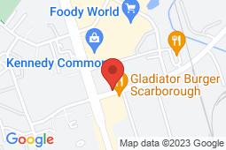 Map of 9 Progress Ave, Unit 1, Scarborough, Ontario - Progress Centre Medical - Progress Centre Medical