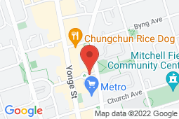 Map of 10 Northtown Way, Unit 108, Toronto, Ontario - Northtown Medical Clinic - Northtown Medical Clinic