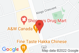 Map of 320 Harwood Ave S, Unit 2, Ajax, Ontario - Harwood Medical Centre - Harwood Medical Centre