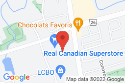 Map of 15900 Bayview Ave, Aurora, Ontario - Doctors on Bayview - Doctors on Bayview