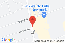 Map of 17215 Leslie St, Newmarket, Ontario - York Medical Clinics Newmarket - York Medical Clinics