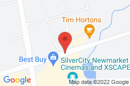 Map of 181 Green Lane E, East Gwillimbury, Ontario - York Medical - York Medical