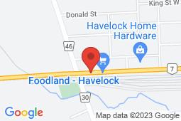Map of 44 Ottawa St West, Havelock, Ontario - Good Doctors Medical Clinics Havelock - Good Doctors Medical Clinics
