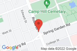 Map of 5991 Spring Garden Road, Halifax, Nova Scotia - The Family Focus Medical Clinic - Spring Garden Road - Lawtons Drugs