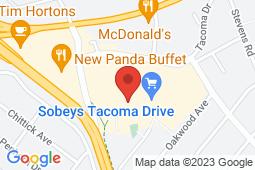 Map of 58 Tacoma Drive, Dartmouth, Nova Scotia - Tacoma Family Medicine and Walk-in Clinic - Tacoma Family Medicine and Walk-in Clinic