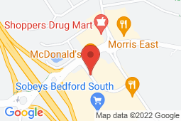 Map of 27 Peakview Way, Bedford, Nova Scotia - The Family Focus Medical Clinic - Bedford - Lawtons Drugs