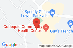 Map of 159 Cobequid Road, Lower Sackville, Nova Scotia - Community Care Walk-in Clinic Inc. - Lawtons Drugs