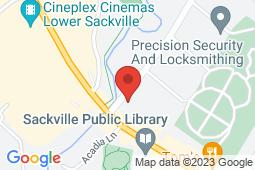 Map of 667 Sackville Drive, Lower Sackville, Nova Scotia - The Family Focus Walk In Clinic - Lower Sackville - Lawtons Drugs