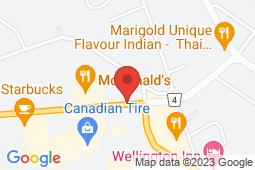 Map of 55 Hwy 118 W, Bracebridge, Ontario - Bracebridge Medical Centre - Bracebridge Medical Centre