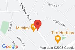Map of 725 Millidge Avenue #2, Saint John, New Brunswick - Millidgeville Medical Clinic - Pharmasave