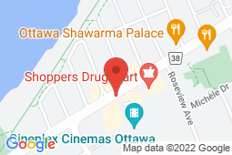 Map of 3098 Carling Ave, Unit 7, Ottawa, Ontario - Access Medical Centre - Access Medical Centre