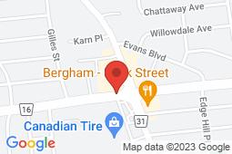 Map of 1582 Bank St, Ottawa, Ontario - Appletree Medical Clinic Bank St - Appletree Medical Group