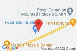 Map of 241 Pictou Road, Bible Hill, Truro, Nova Scotia - Care Now Walk in Clinic - Pharmasave