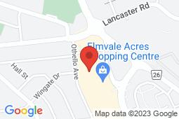 Map of 18-1910 St. Laurent Blvd, Ottawa, Ontario - CareMedics Elmvale Acres - CareMedics