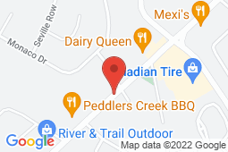 Map of 140 Hampton Road, Rothesay, New Brunswick - KV After Hours Medical Clinic - Primacy