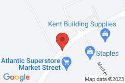 Map of 26A Market Street, Antigonish, Nova Scotia - Primacy Medical Clinic - Antigonish - Primacy