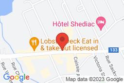 Map of 336 Main Street, Shediac, New Brunswick - Clinique après-heure de Shediac - Jean Coutu