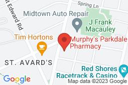 Map of 20-24 St. Peter's Road, Charlottetown, Prince Edward Island - Charlottetown Walk-in Clinic - Murphy's Pharmacies
