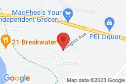 Map of 17 Knights Ave, Souris, Prince Edward Island - Souris COVID 19 Vaccination Clinic - COVID 19 Vaccination Clinics