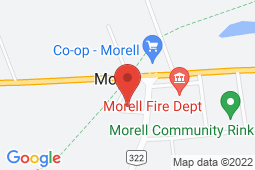 Map of 25 Sunset Crescent, Morell, Prince Edward Island - Morell Village Community Office - Health PEI